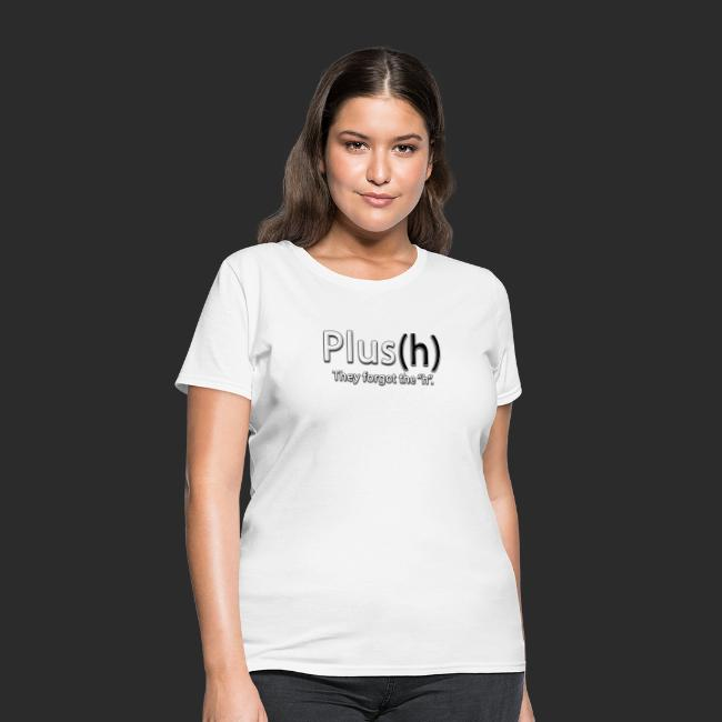Plus(h) New logo WHT with
