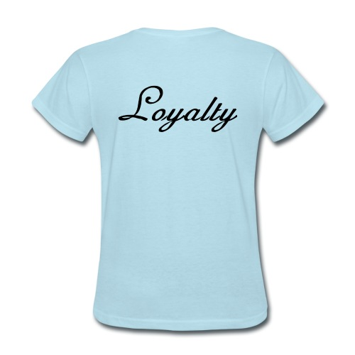Loyalty Brand Items - Black Color - Women's T-Shirt