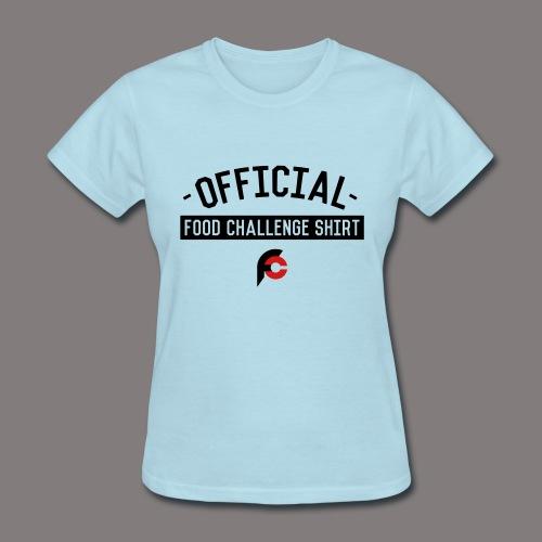 Official Food Challenge Shirt 2 - Women's T-Shirt