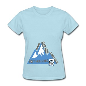 BBQ A Mile High - Women's T-Shirt
