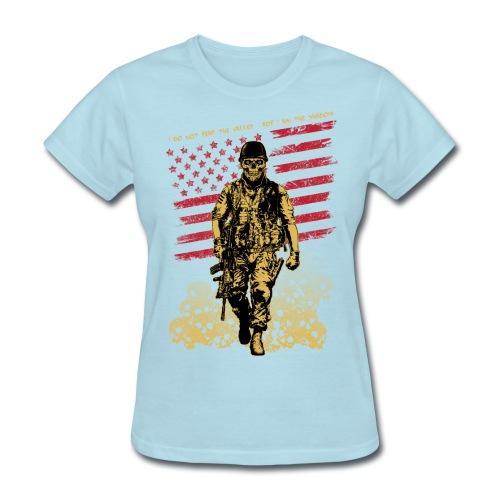 Skull Soldier - Women's T-Shirt