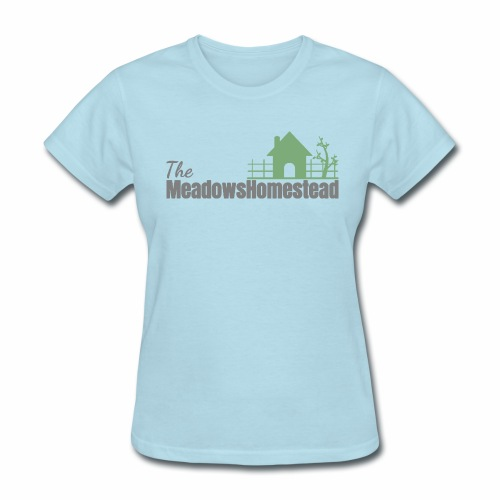 TMHlogo gray and green - Women's T-Shirt