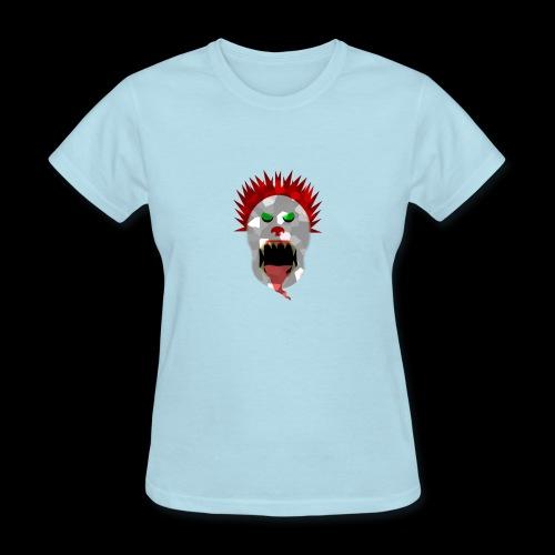 creepy clown Halloween design - Women's T-Shirt