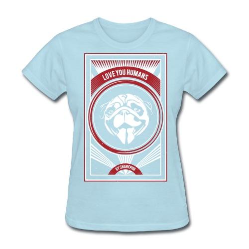 Cool Pug - Women's T-Shirt