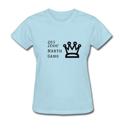 Qu3Logic/Northgang - Women's T-Shirt