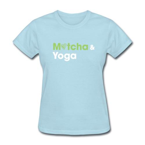Matcha & Yoga T-shirt - Women's T-Shirt