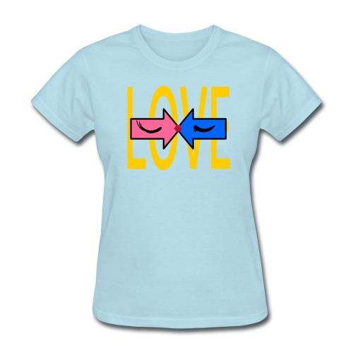 two roads one love - Women's T-Shirt