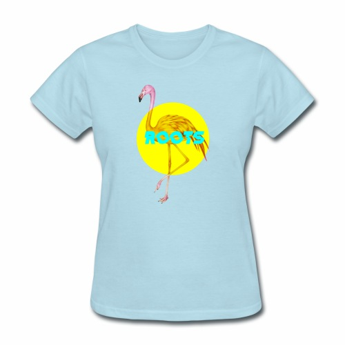 Flamingo Roots - Women's T-Shirt