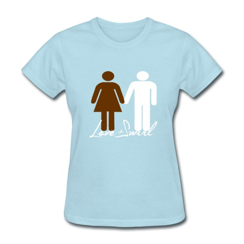 Love and Swirl - Women's T-Shirt