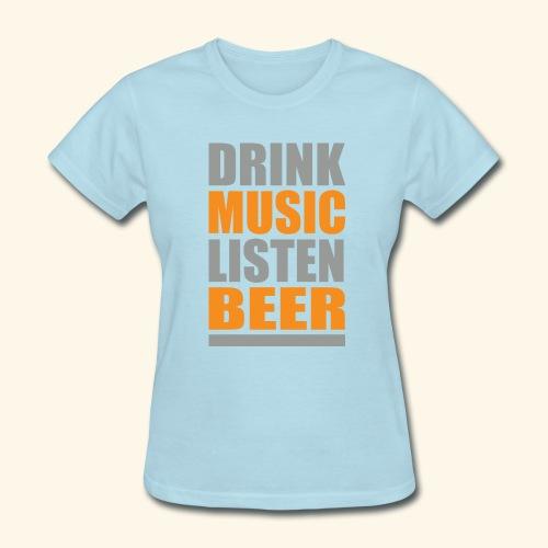 Drinkbeer TEE - Women's T-Shirt