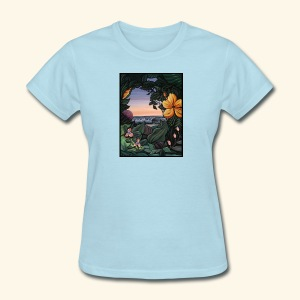 Backyard View - Women's T-Shirt