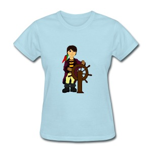 Alex the Great - Pirate - Women's T-Shirt