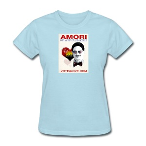 Amori for Mayor of Los Angeles eco friendly shirt - Women's T-Shirt