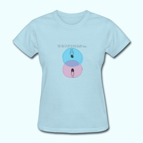 Different Worlds - Women's T-Shirt