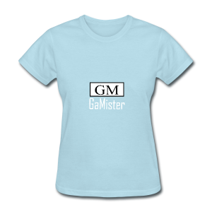 gamister_shirt_design_1_back - Women's T-Shirt