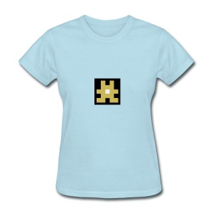 YELLOW hashtag - Women's T-Shirt