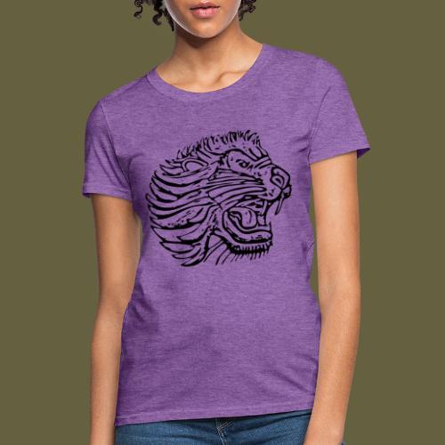 Cent Lion Head Black - Women's T-Shirt