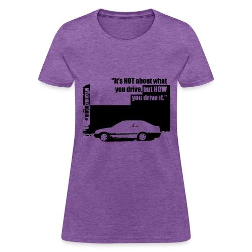 Addik Silouhette black 1 - Women's T-Shirt