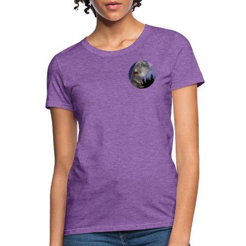 Sun Bear Under the Moon - Women's T-Shirt