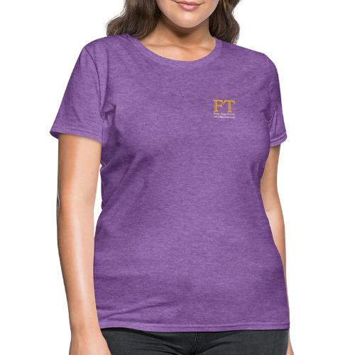 FT Logo Clear 300dpi - Women's T-Shirt
