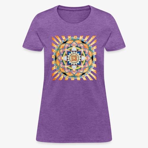 Radiant Light Mandala - Women's T-Shirt