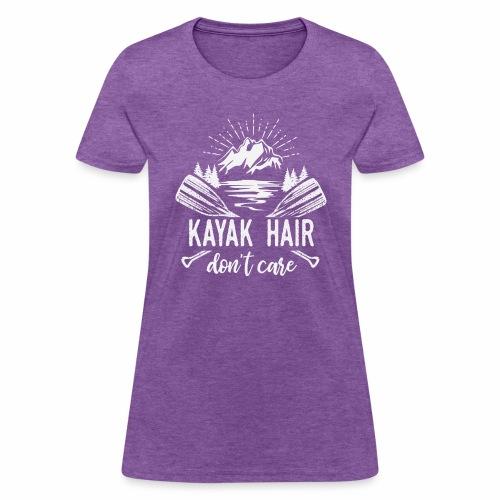 Kayak Hair - Women's T-Shirt