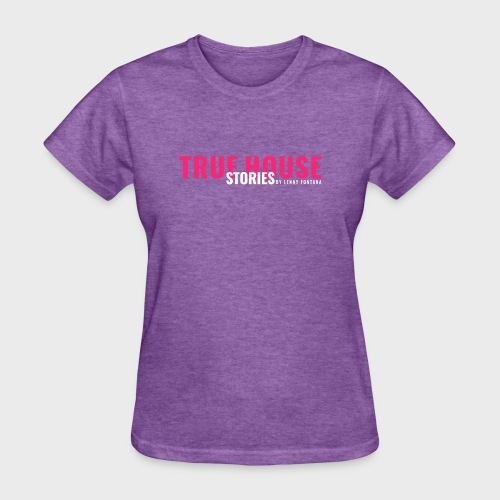 True House Stories Logo white - Women's T-Shirt