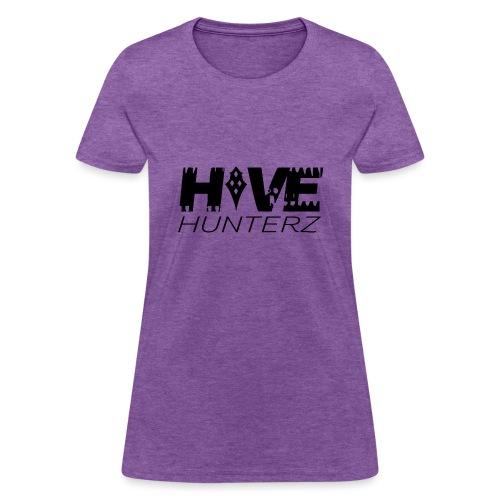 Hive Hunterz Black Logo - Women's T-Shirt