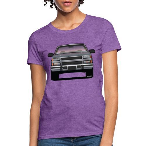 Design Icon: American Bowtie Silver Urban Truck - Women's T-Shirt