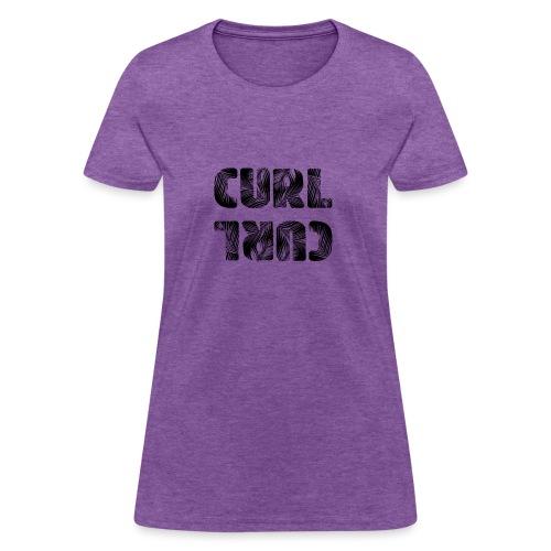 Curl Curl Black - Women's T-Shirt