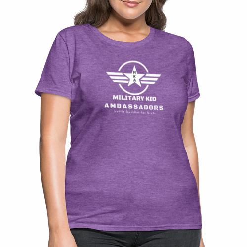 Military Kid Ambassador White - Women's T-Shirt