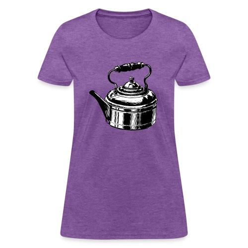 Tea Kettle - Teapot - Women's T-Shirt
