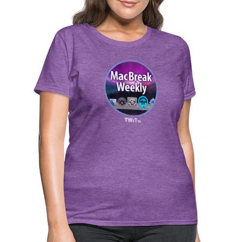 MacBreak WeeklyAlbum Art Distressed - Women's T-Shirt