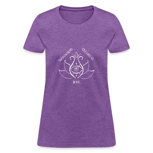Light Wondering Celestial Soul Logo - Women's T-Shirt