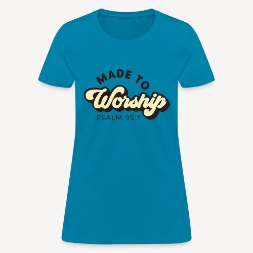 psalm 95:1 - Women's T-Shirt