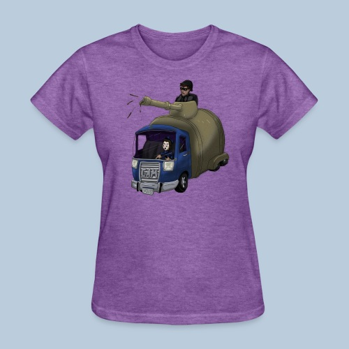 Out of Poopy - Septic Truck - Women's T-Shirt