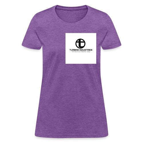 turbine industries logo - Women's T-Shirt