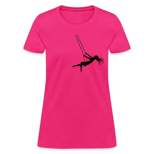 Swinging Girl - Women's T-Shirt