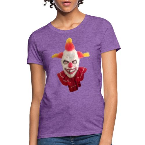 Wacky Alex Clown Head - Women's T-Shirt