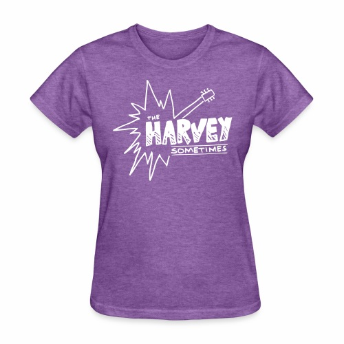 Band Logo - White - Front and Back - Women's T-Shirt