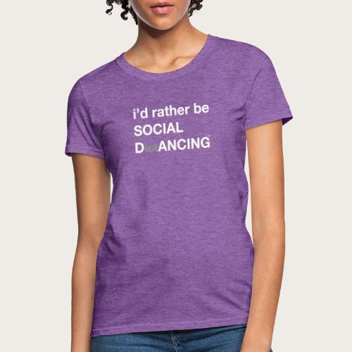Social Dancing - Women's T-Shirt
