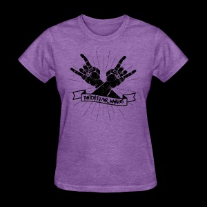 Rock Fists -black - Women's T-Shirt
