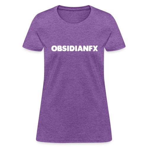 ObsidianFX Merch - Women's T-Shirt
