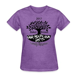Baker Brown Family Reunion - Women's T-Shirt