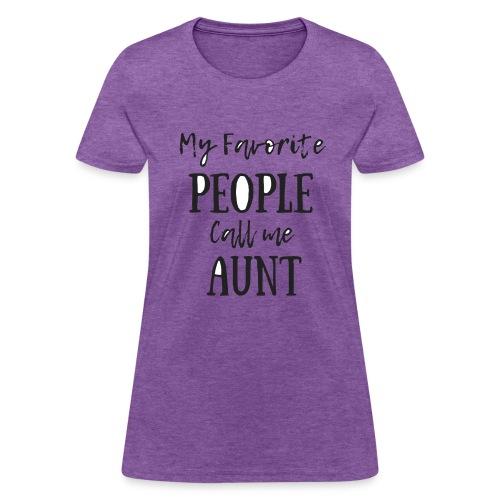 Aunt - Women's T-Shirt