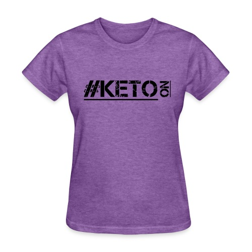 Distressed KETO On - Women's T-Shirt