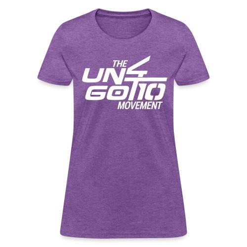The Un4got10 Movement - Women's T-Shirt