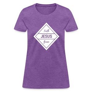 Faith Grace Jesus - Women's T-Shirt