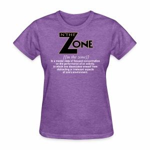 in the zone definition 1 - Women's T-Shirt