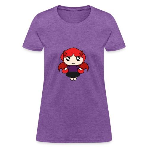 devil girl - Women's T-Shirt
